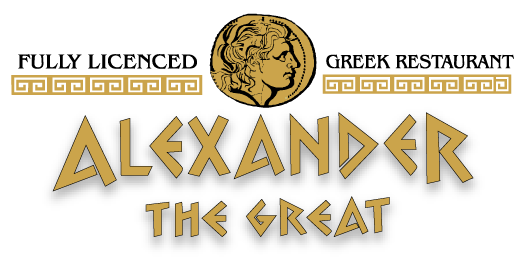 Alexander The Great Greek Restaurant Logo
